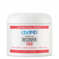 CBD Recover Tub - 1500 mg - 4 oz