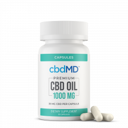 CBD Oil Capsules - 1000 mg - 30 Count