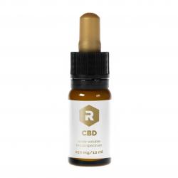 CBD ve vodě rozpustná tinktura - 250 mg - 10 ML
