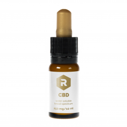 CBD water soluble tincture - 250 mg - 10 ml